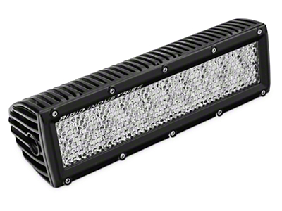 Rigid Industries 10 in. E Series LED Light Bar - 60 Deg. Diffused - Flood Beam (97-18 All)