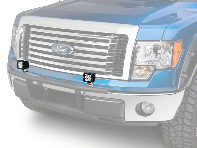 Rigid Industries D2 Series LED Light Cube - Wide Beam (97-17 All)