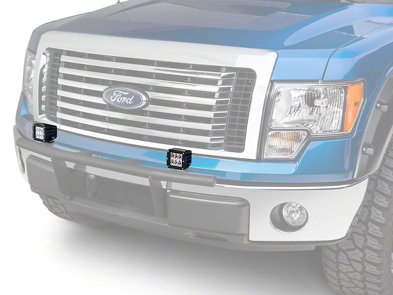 Rigid Industries D2 Series LED Light Cube - Driving Beam (97-18 F-150)