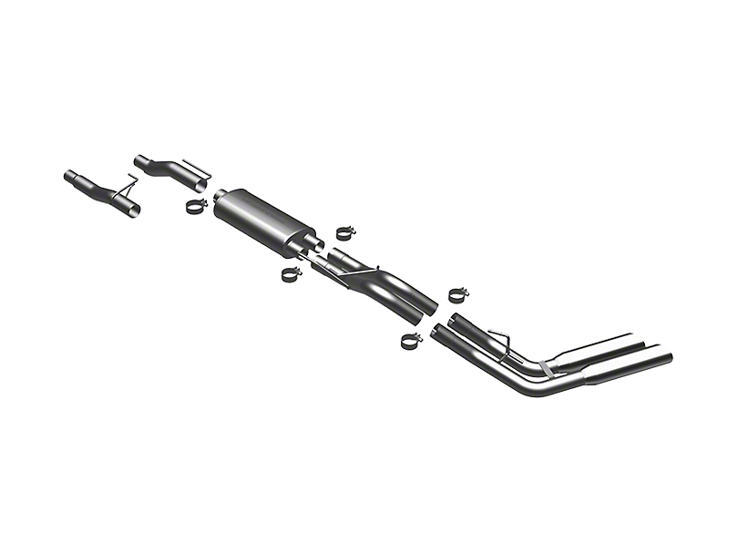 Magnaflow MF Series Cat-Back Exhaust - Dual Side Exit - After Rear Tire (11-14 3.5L EcoBoost)