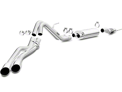 Magnaflow MF Series Cat-Back Exhaust - Dual Side Exit - After Rear Tire (15-17 2.7L EcoBoost)