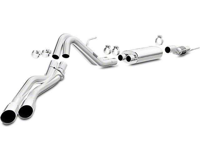 Magnaflow MF Series Cat-Back Exhaust - Dual Side Exit - After Rear Tire (15-17 3.5L V6)