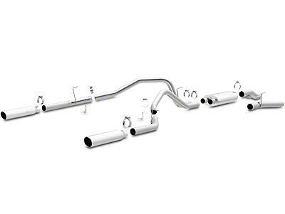 Magnaflow MF Series Cat-Back Exhaust - Split Rear Exit (09-10 5.4L, Excluding Raptor)