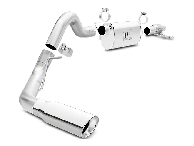 Magnaflow 3 in. MF Series Single Exhaust System - Side Exit (15-18 2.7L EcoBoost F-150)