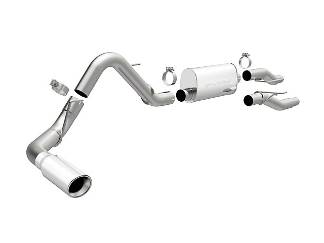 Magnaflow MF Series Cat-Back Exhaust - Single Side Exit (11-14 3.5L EcoBoost)