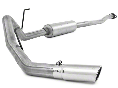 MBRP Installer Series 3 in. Cat-Back Exhaust - Single Side Exit (11-14 3.5L EcoBoost)