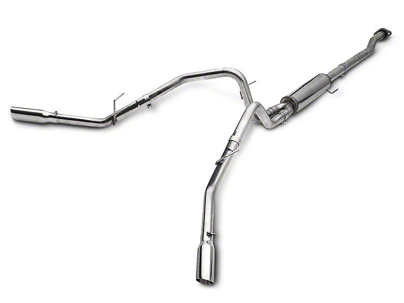 MBRP Pro Series 2.5 in. Cat-Back Exhaust - Split Side Exit (09-10 4.6L)