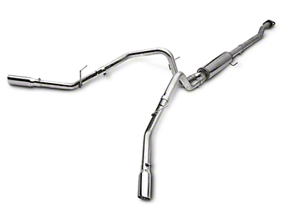 MBRP 2.5 in. Pro Series Dual Exhaust System - Side Exit (09-10 4.6L F-150)