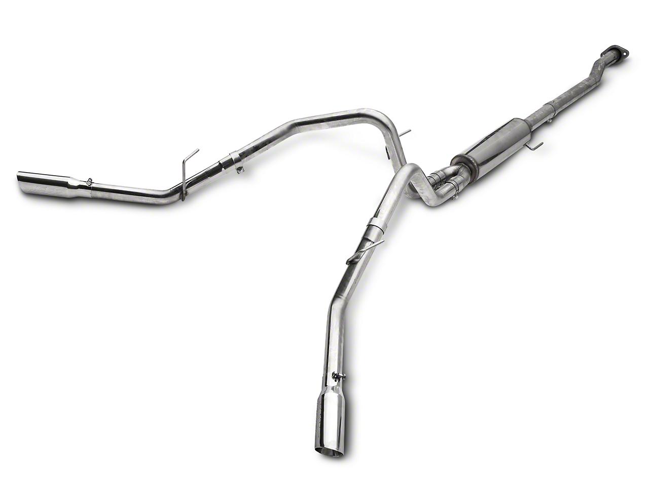 MBRP Pro Series 2.5 in. Cat-Back Exhaust - Split Side Exit (09-10 5.4L, Excluding Raptor)