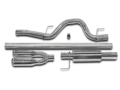 Roush Performance 3 in. Cat-Back Exhaust w/ Y-Pipe Tip - Single Rear Exit (11-14 3.5L EcoBoost)