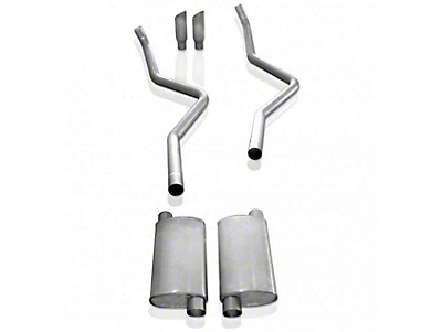 Stainless Works 2.5 in. Turbo Chambered Cat-Back Exhaust - Dual Side Exit - Performance Connect (09-10 5.4L, Excluding Raptor)