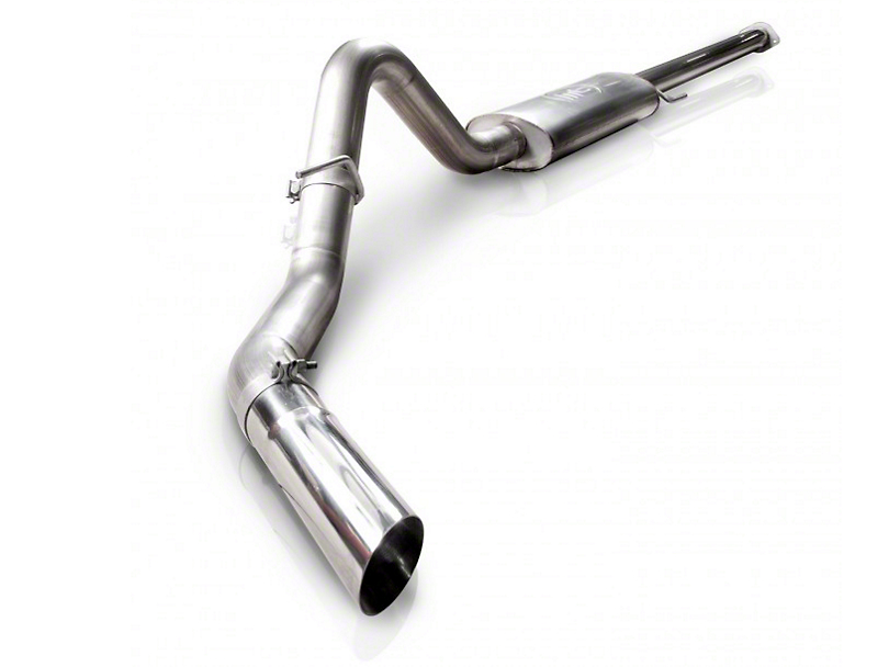 Stainless Works S-Tube Turbo Cat-Back Exhaust - Single Side Exit - Factory Connect (11-14 3.5L EcoBoost)