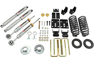 Belltech Stage 3 2 in. or 3 in. Front / 5.5 in. Rear Lowering Kit w/ Street Performance Shocks (09-13 2WD w/ Short Bed)