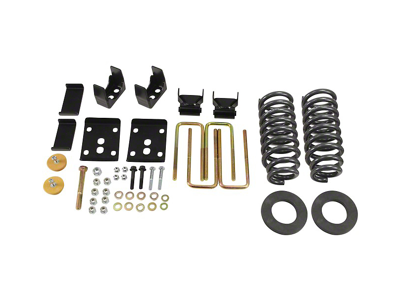 Belltech Stage 1 2 in. or 3 in. Front / 5.5 in. Rear Lowering Kit (09-13 2WD w/ Short Bed)