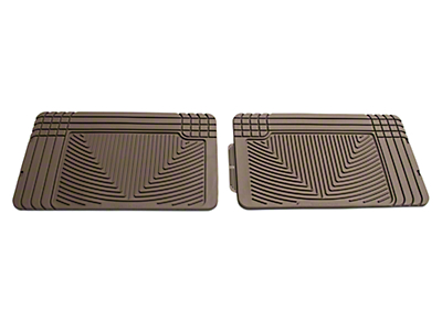 Weathertech All Weather Rear Rubber Floor Mats - Tan (97-08 F-150 SuperCab, SuperCrew)
