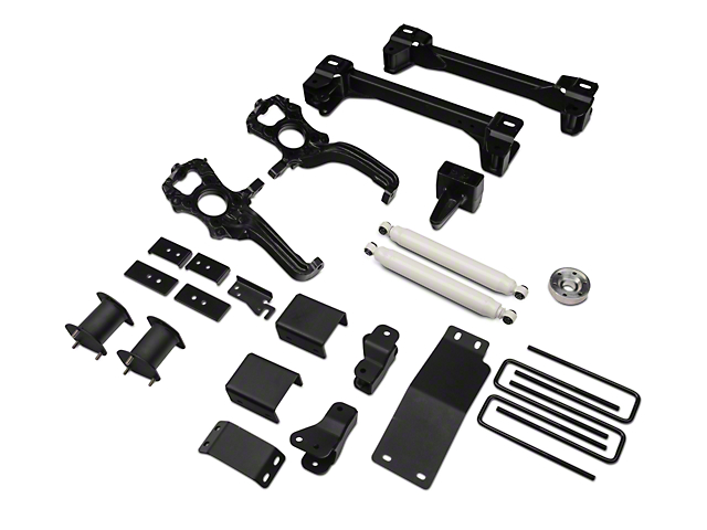 Zone Offroad 6 in. Suspension Lift Kit w/ Shocks (15-17 4WD, Excluding Raptor)