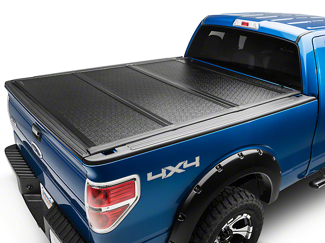 UnderCover Flex Tri-Fold Tonneau Cover - Black Textured (04-14 F-150 Styleside w/ 5.5 ft. & 6.5 ft. Bed)