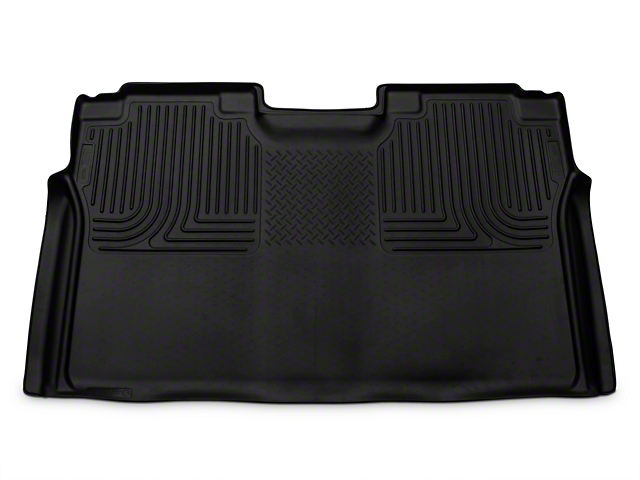 Husky WeatherBeater 2nd Seat Floor Liner - Full Coverage - Black (15-18 F-150 SuperCab, SuperCrew)