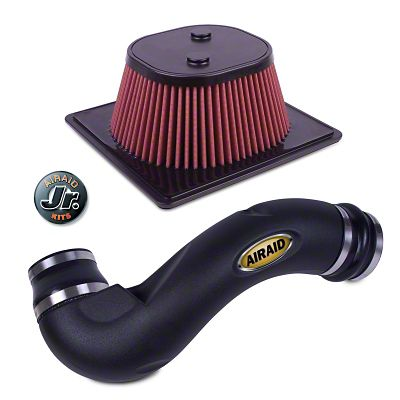 Add Airaid Jr. Intake Tube Kit w/ Red SynthaMax Dry Filter (11-14 5.0L)