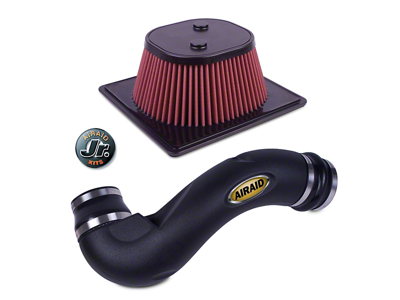 Airaid Jr. Intake Tube Kit w/ Red SynthaMax Dry Filter (11-14 5.0L)