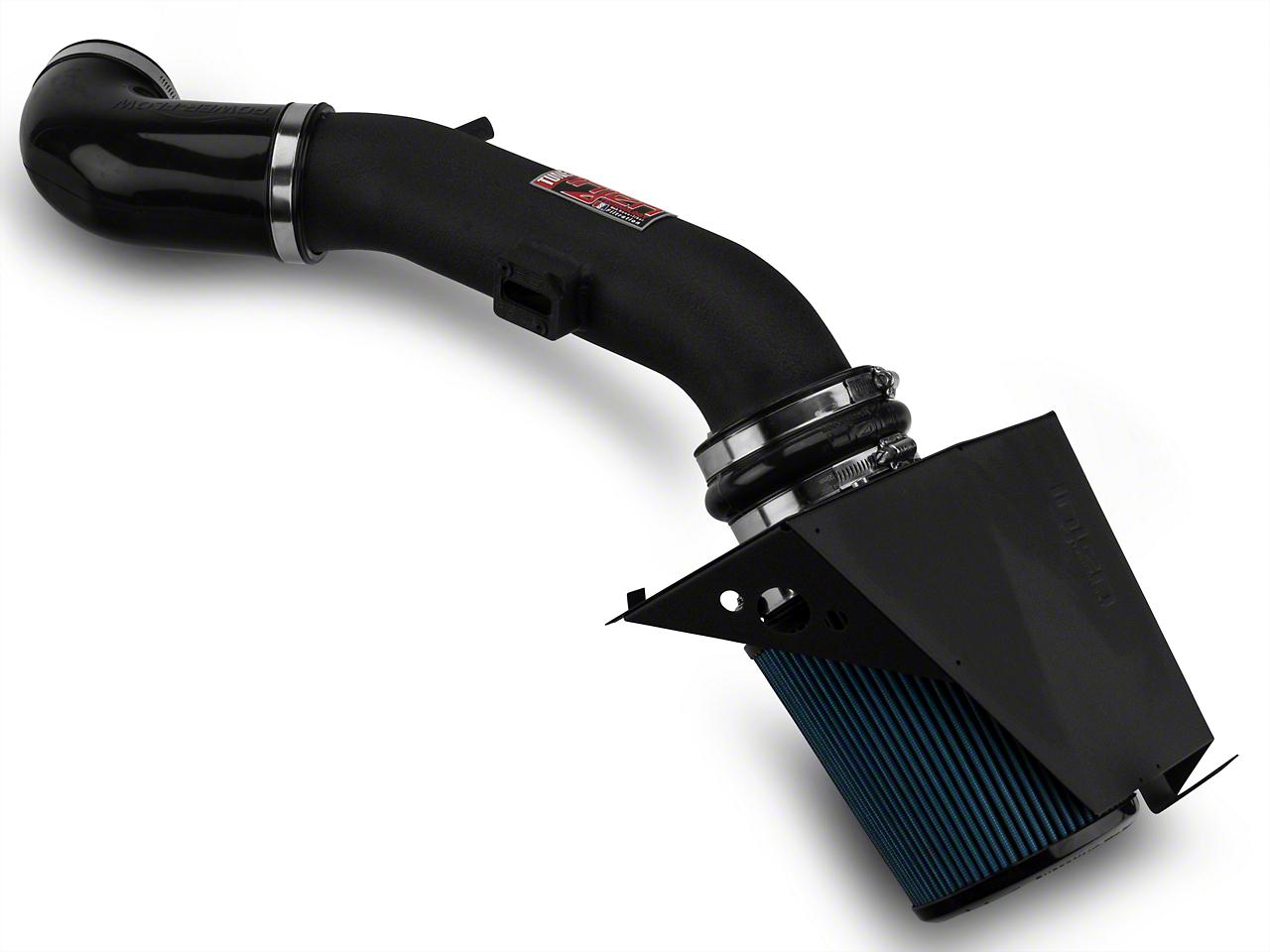 Injen Power-Flow Cold Air Intake - Wrinkle Black (2012 5.0L F-150)