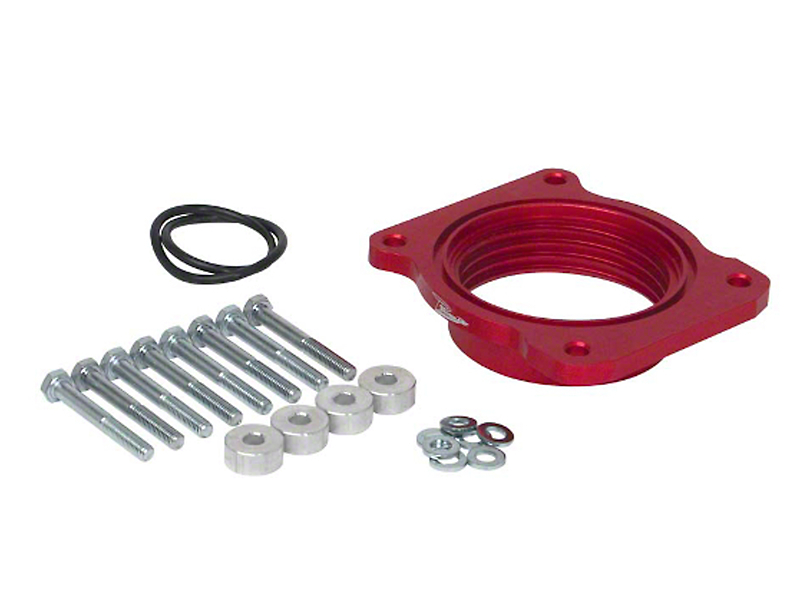 Airaid PowerAid Throttle Body Spacer (07-10 4.6L; 04-10 5.4L; 11-14 3.5L EcoBoost, 3.7L; 11-18 5.0L)
