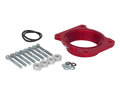 Airaid PowerAid Throttle Body Spacer (07-10 4.6L; 04-10 5.4L; 11-14 3.5L EcoBoost, 3.7L; 11-18 5.0L F-150)