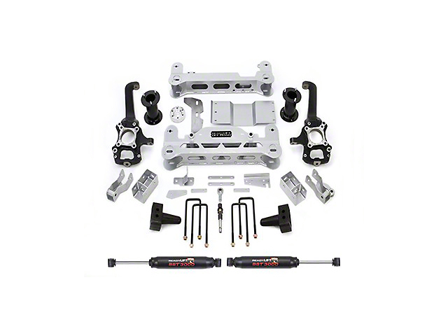 ReadyLIFT 7 in. Off Road Lift Kit w/ SST3000 Shocks (09-14 2WD; 12-14 4WD, Excluding Raptor)