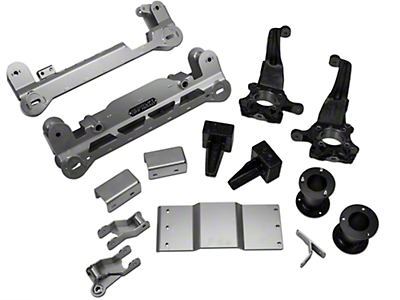 ReadyLIFT 7 in. Off Road Lift Kit w/o Shocks (09-14 2WD F-150; 12-14 4WD F-150, Excluding Raptor)