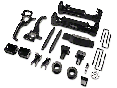 ReadyLIFT 7 in. Off Road Lift Kit w/ SST3000 Shocks - Black (15-18 4WD, Excluding Raptor)