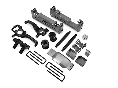 ReadyLIFT 7 in. Off Road Lift Kit w/ SST3000 Shocks - Silver (15-17 4WD, Excluding Raptor)