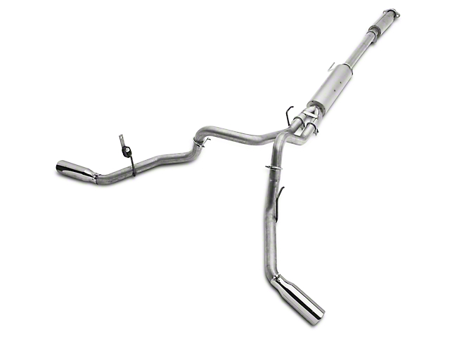 MBRP 2.5 in. Installer Series Dual Exhaust System - Side Exit (15-19 5.0L F-150)