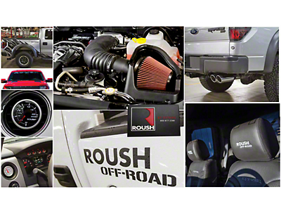 Roush R2300 525 HP Off-Road Supercharger Package - Phase 1 Kit (11-14 6.2L Raptor)