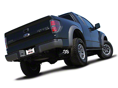 Borla Stinger S-Type Dual Exhaust System - Same Side Exit (10-14 6.2L Raptor)