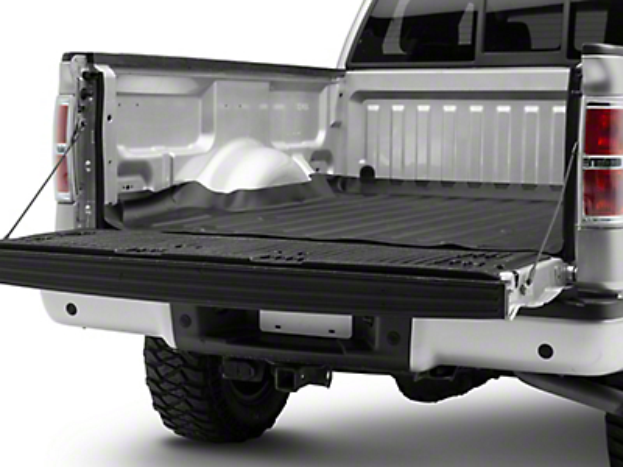 Weathertech TechLiner Bed Mat - Black (04-14 F-150 Styleside)