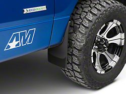 Weathertech No Drill Front Mud Flaps - Black (04-14 F-150 w/out Fender Flares; Excluding Raptor)
