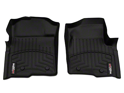 Weathertech DigitalFit Front Floor Liners - Black (09-14 All)