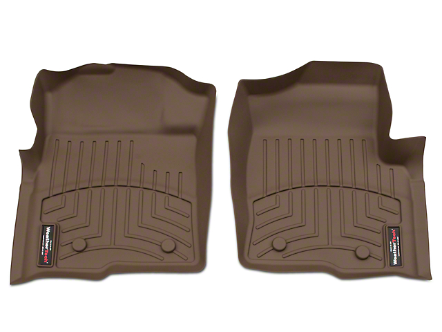 Weathertech F 150 Digitalfit Front Floor Liners Tan