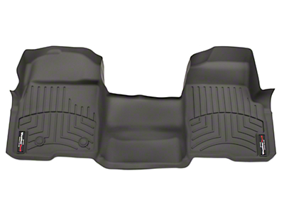 Weathertech DigitalFit Front Floor Liner - Over The Hump - Gray (09-14 SuperCab, SuperCrew)