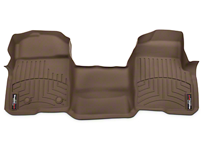 Weathertech DigitalFit Front Floor Liner - Over The Hump - Tan (09-14 SuperCab, SuperCrew)