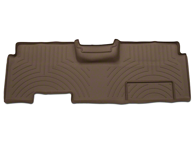 Weathertech DigitalFit Rear Floor Liner - Tan (09-14 SuperCab, SuperCrew)