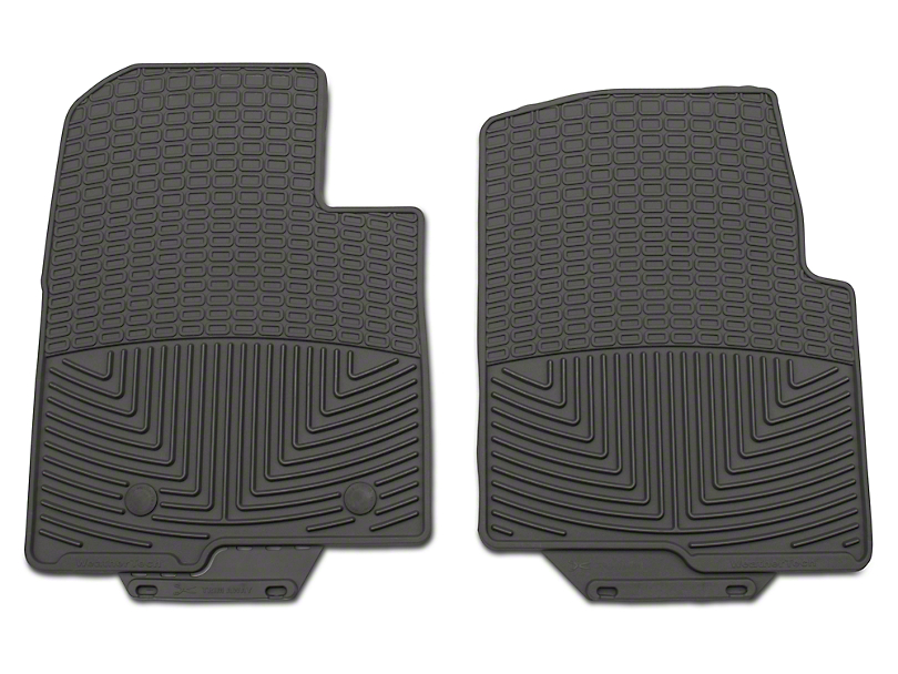 Weathertech All Weather Front Rubber Floor Mats - Gray (09-14 F-150)