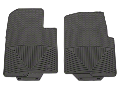 Weathertech All Weather Front Rubber Floor Mats - Gray (09-14 All)