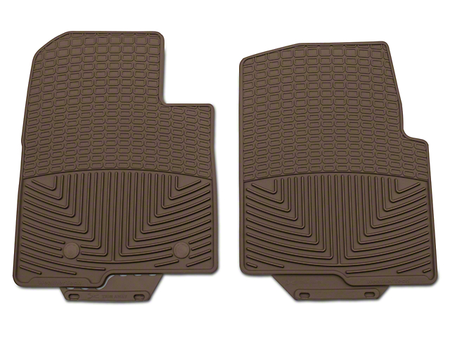 Weathertech All Weather Front Rubber Floor Mats - Tan (09-14 F-150)