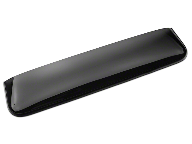Weathertech Sunroof Wind Deflector - Dark Smoke (15-18 F-150 SuperCab, SuperCrew)