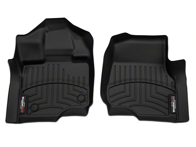 Weathertech DigitalFit Front Floor Liners - Black (15-18 F-150 SuperCab, SuperCrew)