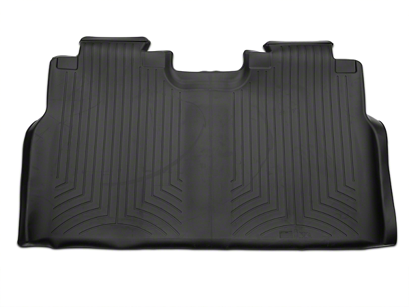 Weathertech DigitalFit Rear Floor Liner - Black (15-18 F-150 SuperCab, SuperCrew)