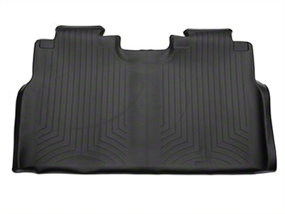 Weathertech DigitalFit Rear Floor Liner - Black (15-18 SuperCab, SuperCrew)