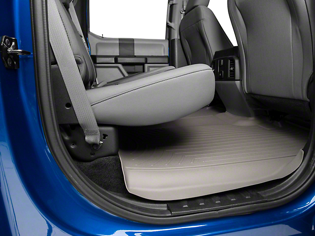 Weathertech F 150 Digitalfit Rear Floor Liner Gray