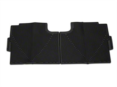 Weathertech All Weather Rear Rubber Floor Mats - Black (15-19 F-150 SuperCrew)